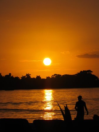 Hotel Riu Palace Tropical Bay: Sunset on the beach
