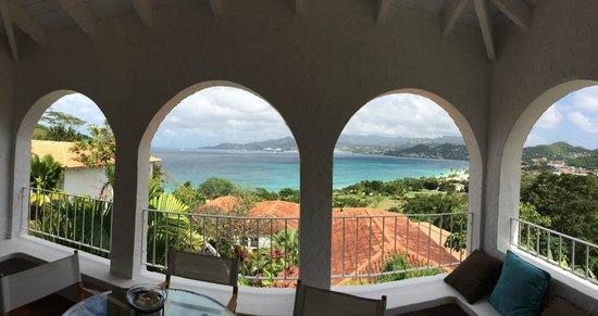 Mount Cinnamon Resort & Beach Club: view from villa 9