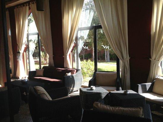 El Miria Palais Riad : salon veranda