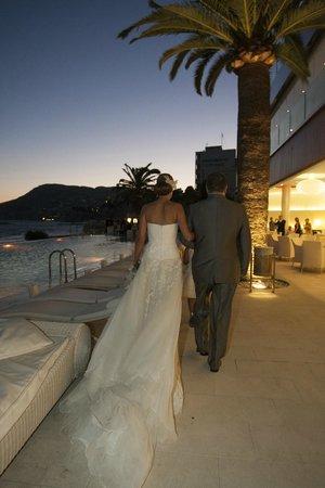 Gran Hotel Sol y Mar: Ceremonia en el Beach Club