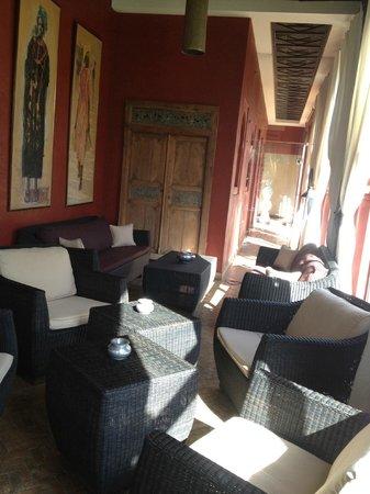 El Miria Palais Riad : veranda