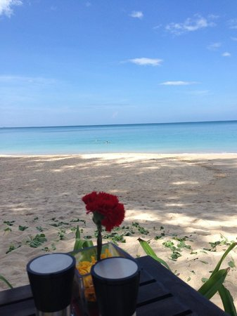 Layana Resort and Spa: View from Breakfast