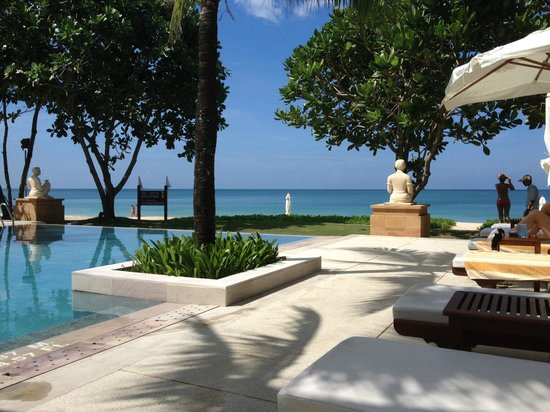 Layana Resort and Spa: view from sun lounger