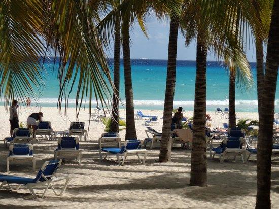 Hotel Riu Palace Riviera Maya: view from the restaurant