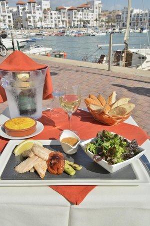 brasero : nos filets de poissons a la plancha