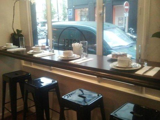 Hotel Emile : Tavolo colazione