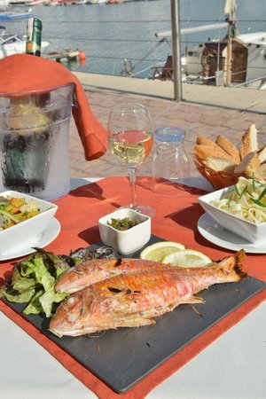 brasero : nos poissons frais
