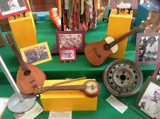 National Museum: Musical Instruments used by the Slaves