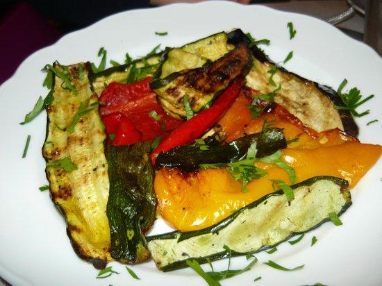 Gli Orti di via Elisa : ottime verdure grigliate