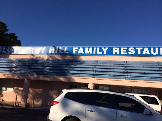 Blueberry hill family restaurant