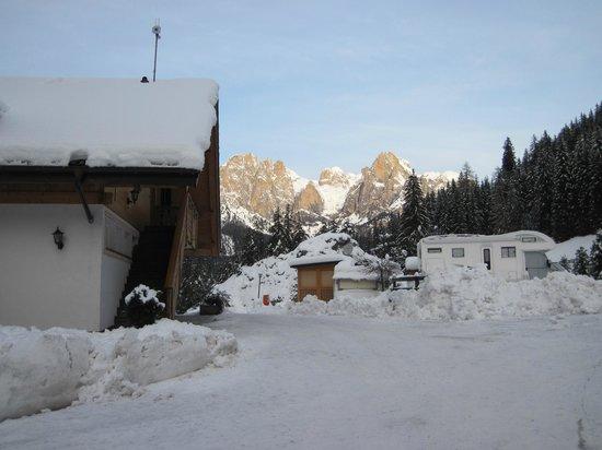 Camping Vidor: panorama dall'atrio