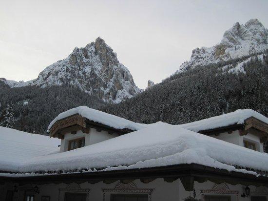 Camping Vidor: panorama stupendo