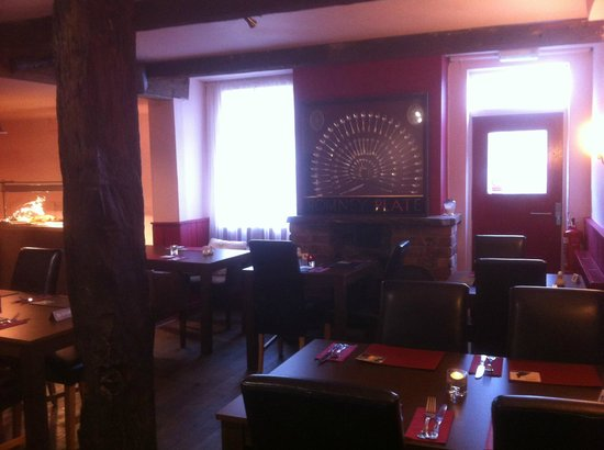 Armouries Arms: our back restaurant and function room