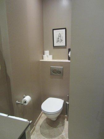Hotel Saint-Louis en l'Isle: Toilet