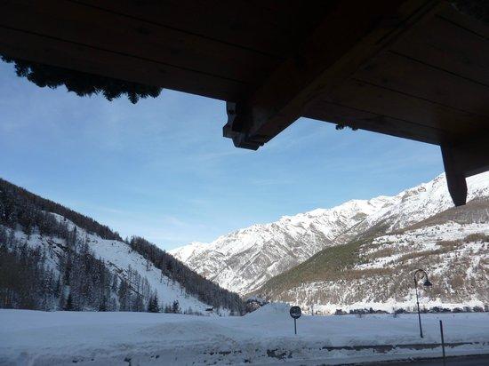 Hotel Le Bouquet : verso il Monte Bianco