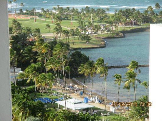 Caribe Hilton San Juan : Views from Hotel Room Balcony