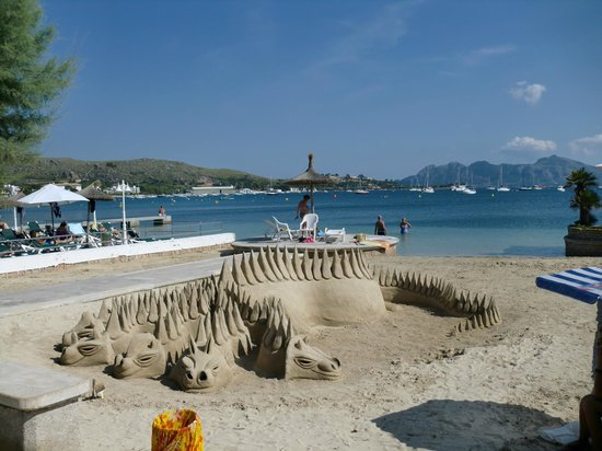 Hotel Illa d´Or: beach