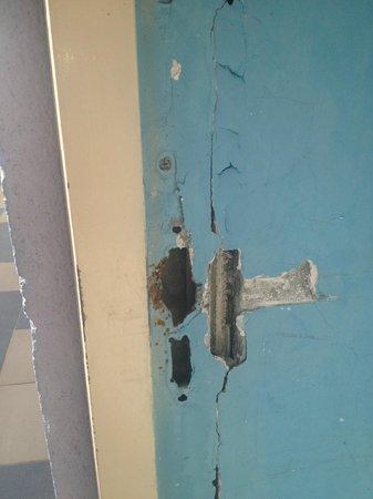 Hotel Coco Playa : Portes non sécurisées