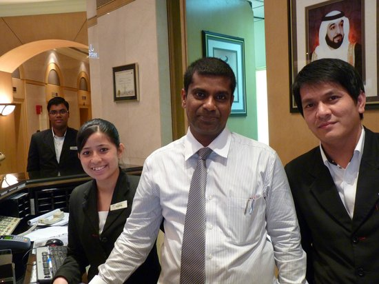 Le Meridien Fairway: Welcome smile from the staff