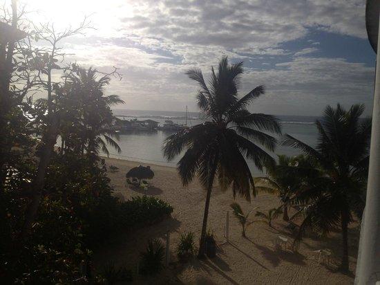 Hotel Coco Playa : La vue côté pallier, très utile...