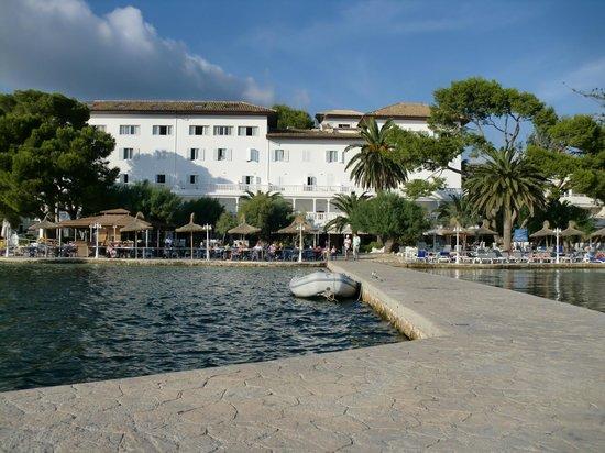 Hotel Illa d´Or: hotel illa d'or from sea