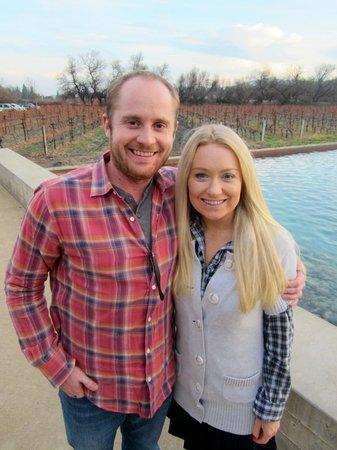 Knight Wine Tours: Alpha Omega Winery, stop #7 at the end of Day 1
