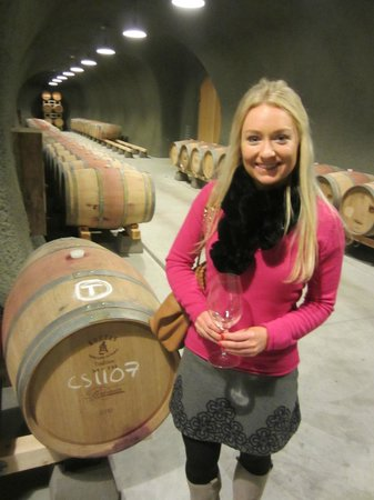 Knight Wine Tours: Bremer Cave tour!