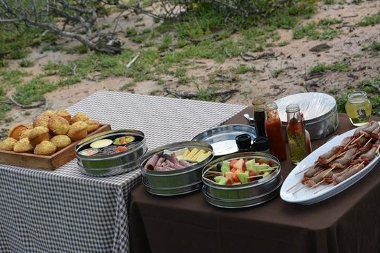 Dulini River Lodge: breakfast