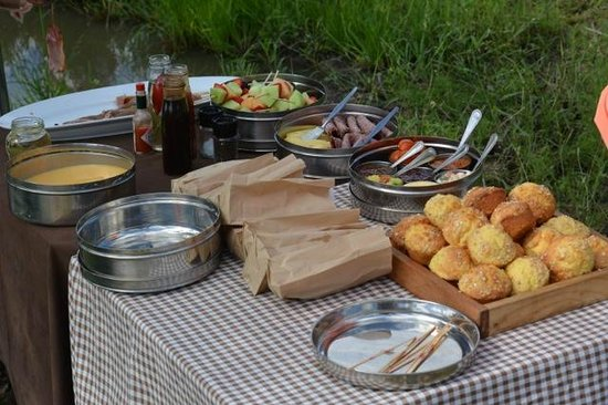 Dulini River Lodge: snacktime