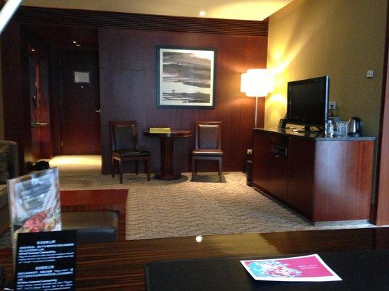 Regent Beijing : Living room area of a suite