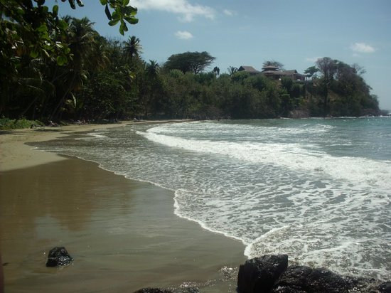 Bacolet Bay, Tobago: This is the beach