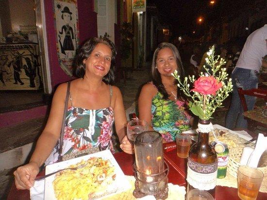 Maria Bonita Casa de Massas: Maria Bonita com mulheres bonitas em Lençóis-BA