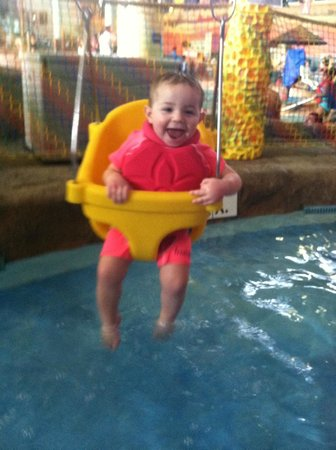 Kalahari Resorts & Conventions: Plenty of play area for infants
