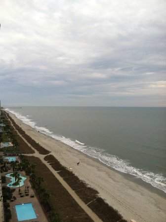 Compass Cove Oceanfront Resort: from 15th floor balcony