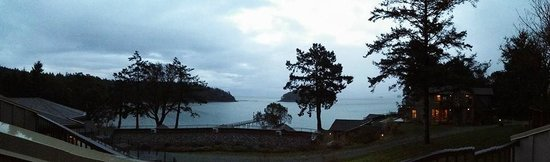 Mayne Island Resort: View from our room