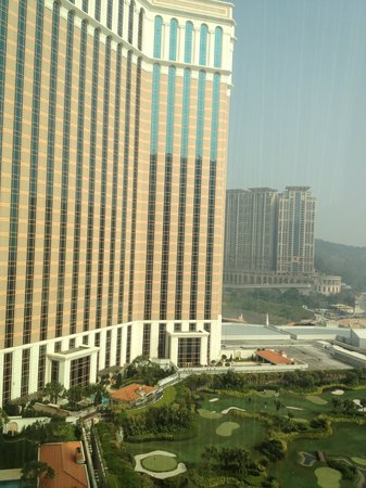 The Venetian Macao Resort Hotel: View from our room