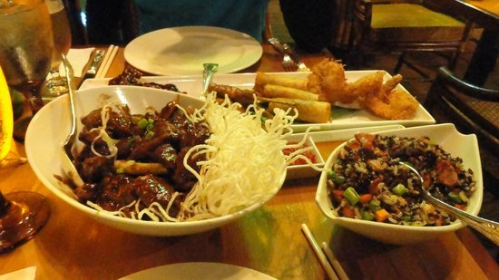 Tonga Room: Filling meal that wasn't too expensive