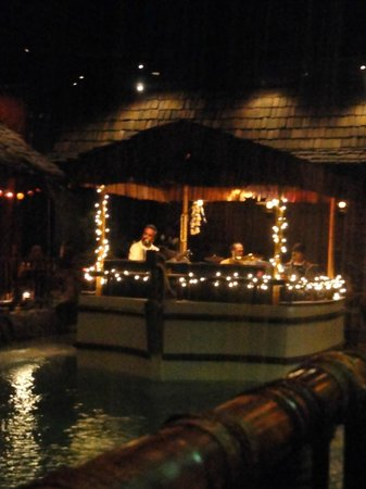Tonga Room: These guys definitely created a great atmosphere