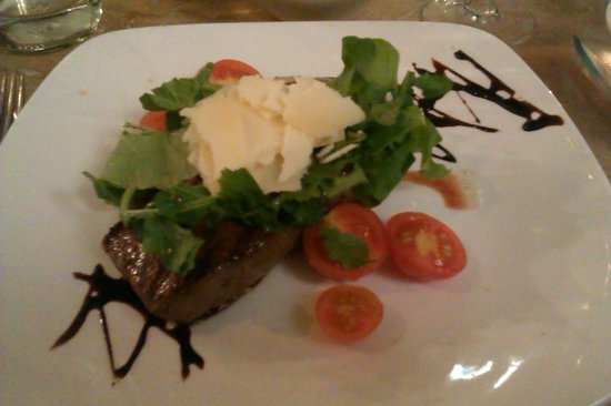 Marina Hotel Corinthia Beach Resort: steak