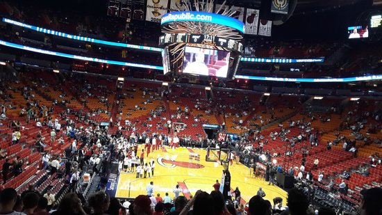 American Airlines Arena: Previa