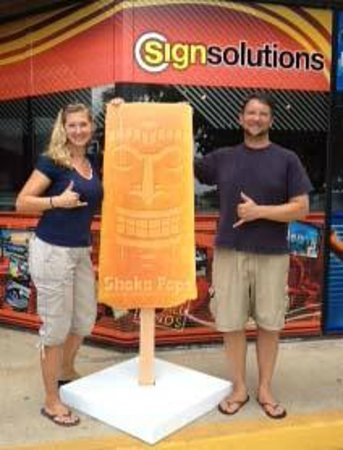 Shaka Pops: Look for our six foot popsicle at an event near you.