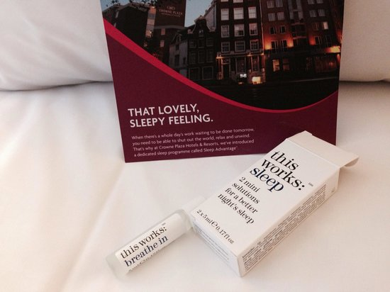 Crowne Plaza Amsterdam City Centre: A little something to help you relax...