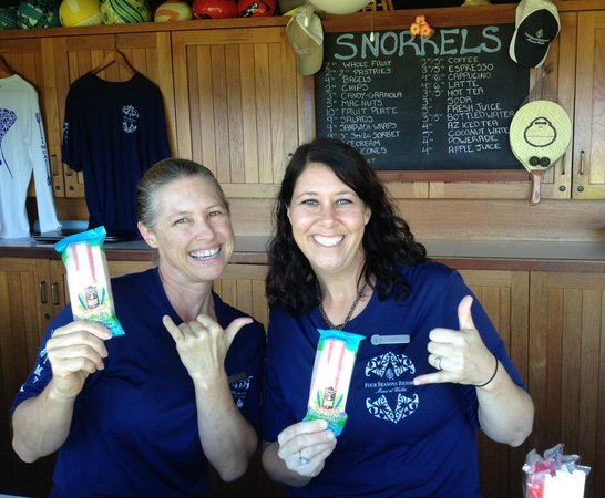 Shaka Pops: Stop by the Snorkels snack bar at the Four Seasons Wailea to get your pop fix.