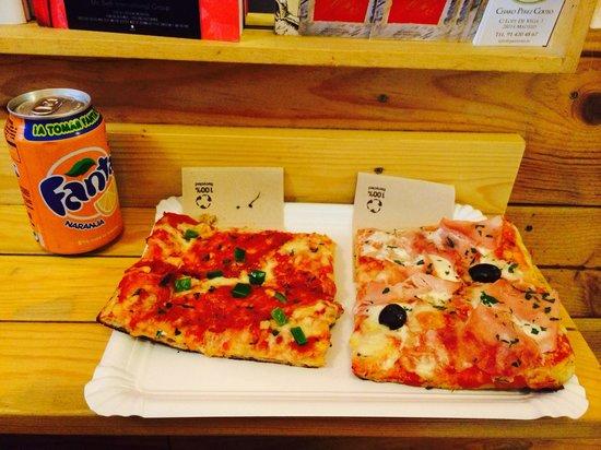 La Pizzateca: Menú 6€ pizzateca