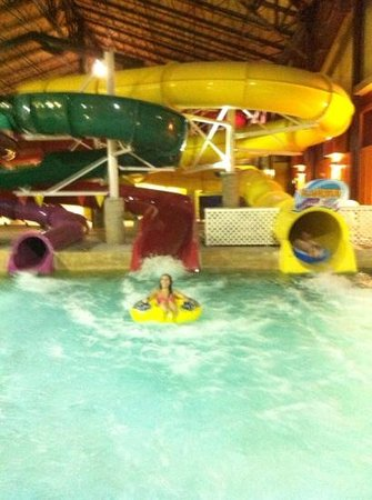 Red Jacket Mountain View Resort & Water Park: water slides