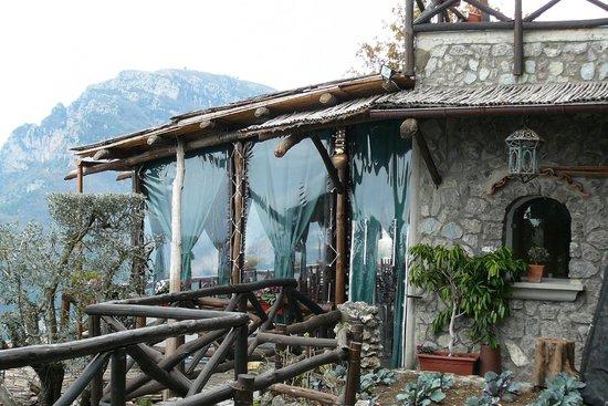 See Amalfi Coast and more... : Side view of La Tagliata