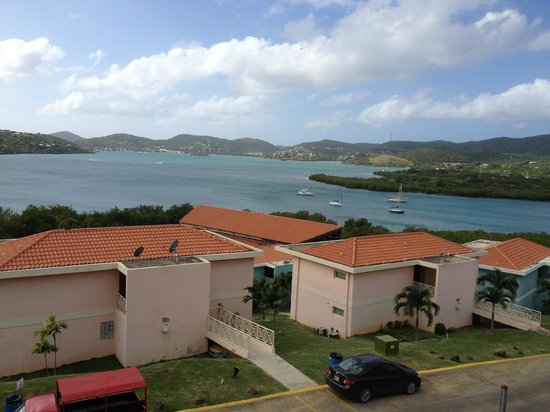 Sea Breeze Hotel: Bay view from room