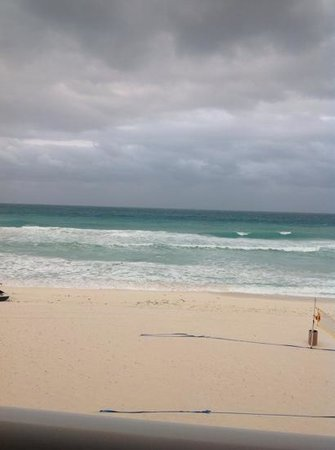 Hard Rock Hotel Cancun: taken from balcony of our room