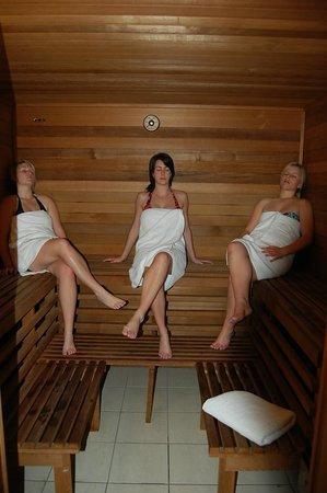 Motel Menere's: Sauna