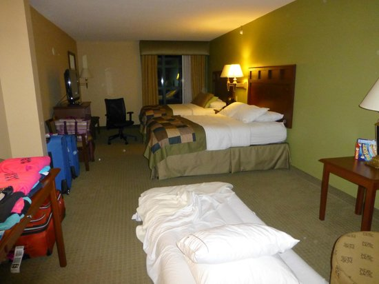 Holiday Inn Express & Suites Bradenton East-Lakewood Ranch: Nice large clean room!